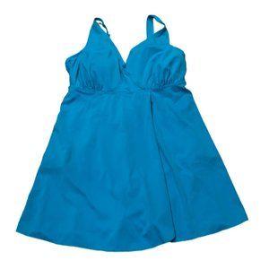 💥5/$25💥 SWIM365 Plus Sz 14W Blue Swim Suit